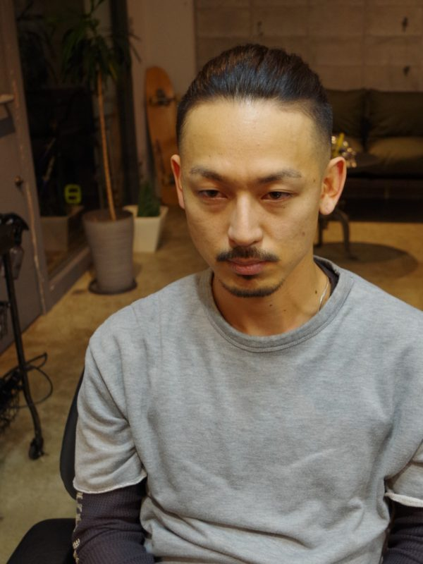 メンズ 髪型 フェード